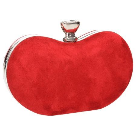 Torebka kopertówka czerwona damska